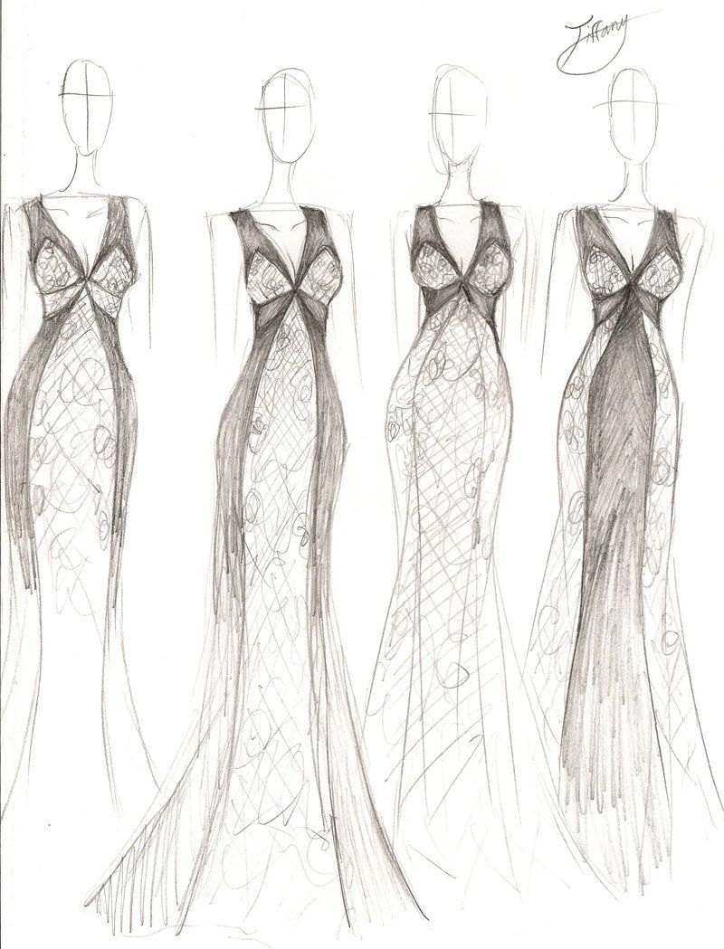 Stephanie D Couture Spring 2014 Concept Sketch By Ember Snow Devian On Deviantart Fashion Sketches Fashion Fashion Photography