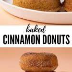 Photo of Baked Cinnamon Sugar Donuts
