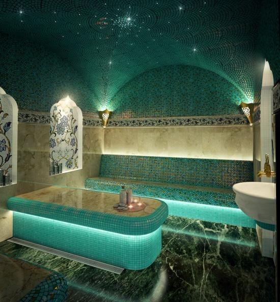 21 2 2 Jpg 550 592 Bathroom Spa Sauna Design Hammam Bathroom