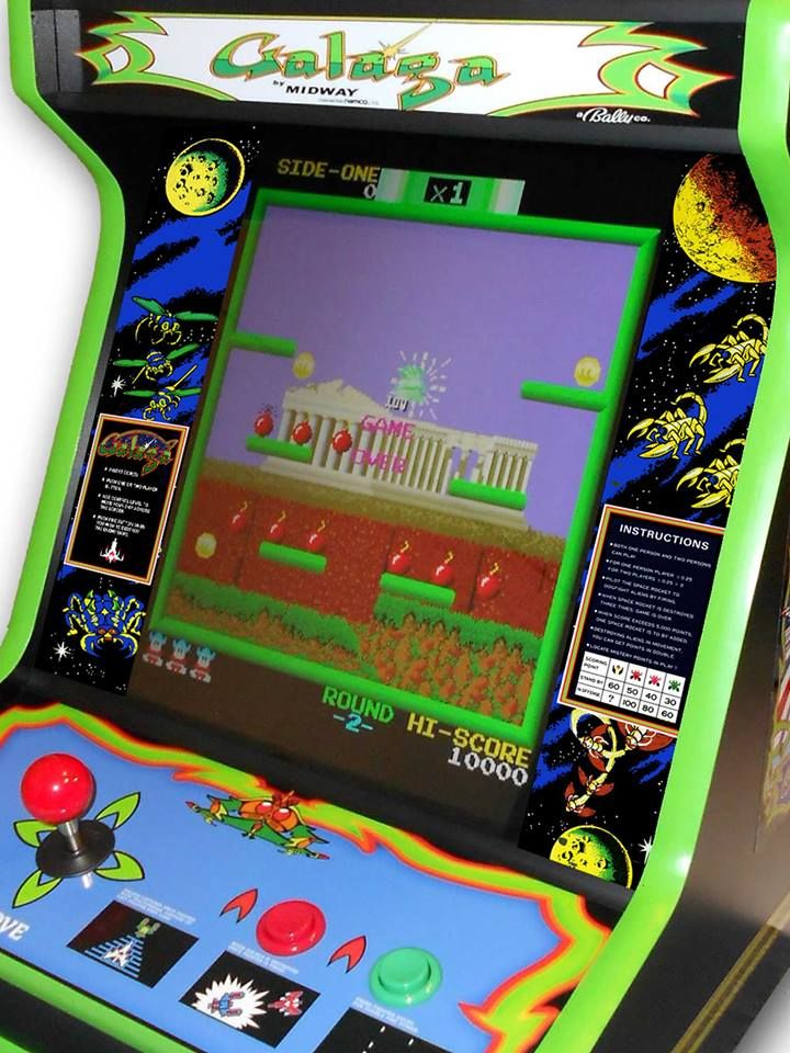 Fantastic Galaga Bezel Artwork Just Truly Awesome This Finishes Any Download Free Architecture Designs Rallybritishbridgeorg
