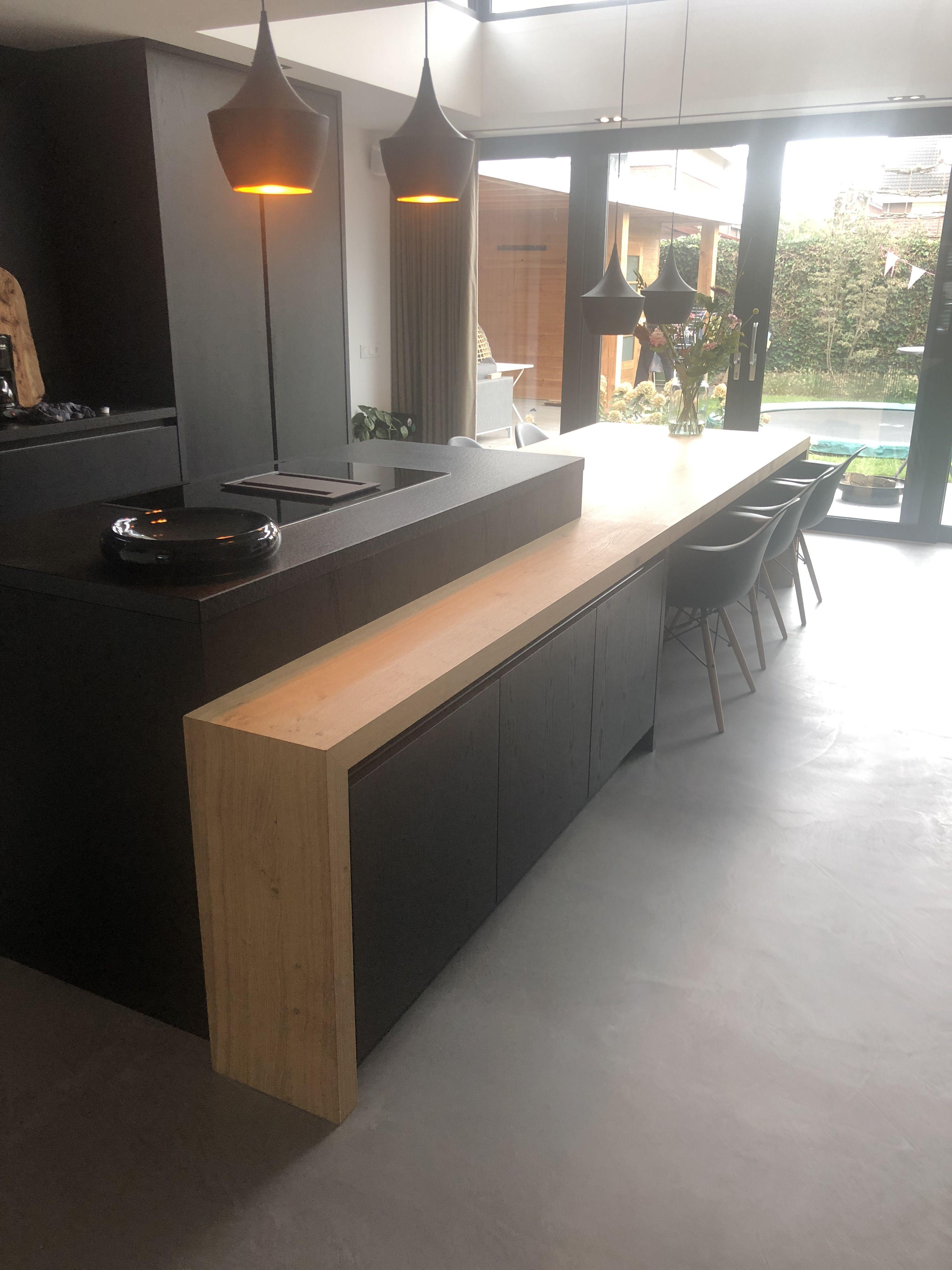 Epingle Par Victor Sur Cocinas Cuisine Moderne Cuisine Contemporaine Cuisine Appartement