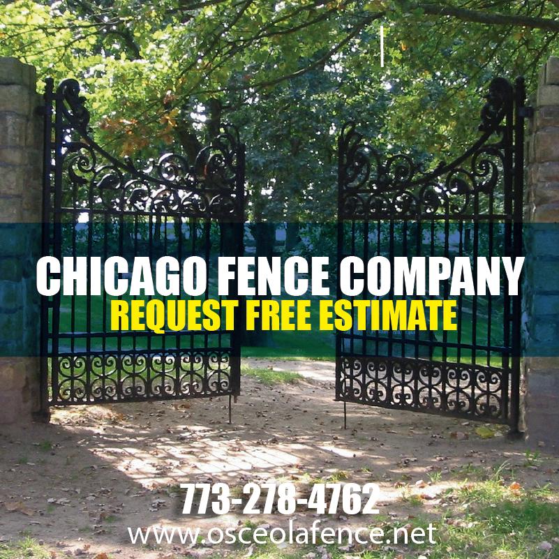 Wrought Iron Fences Fence Company Chicago Custom Ironwork Custom Ironwork Fencing Companies Wrought Iron Fences