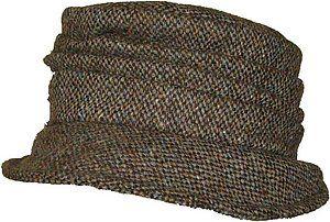 http://www.harristweedshop.com/ladies-harris-tweed-hats.html