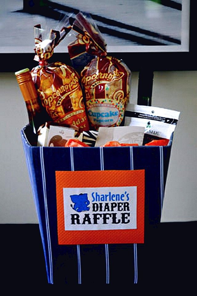 Baby Shower Prizes Coed Tags Baby Shower Ideas Diaper Raffle