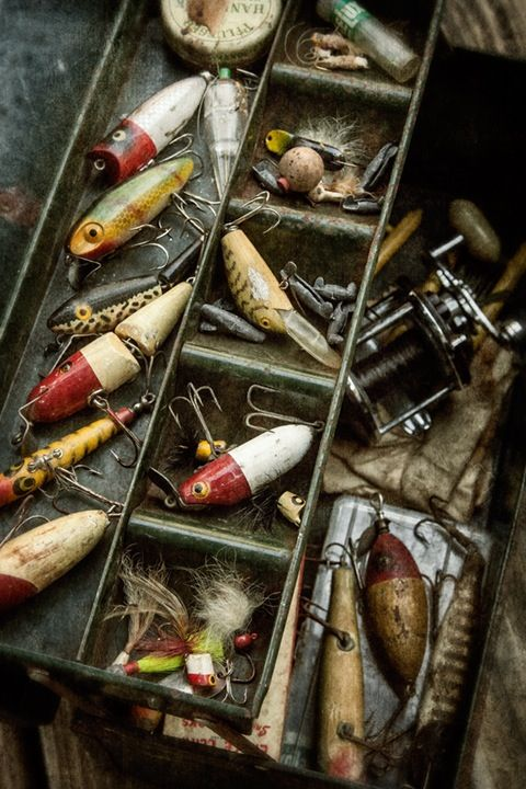 Best 25 vintage fishing ideas on pinterest vintage for Vintage fishing tackle