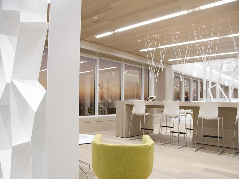 Teknion Los Angeles Showroom International Interior Design Ociation Firms Office Furniture