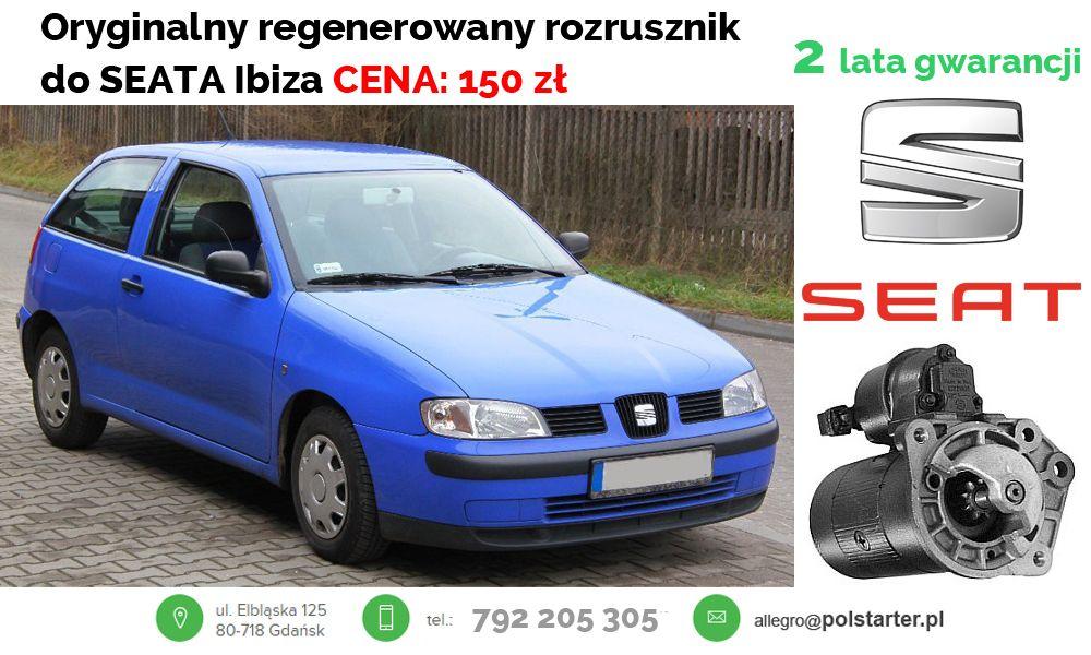 Rozrusznik Seat Cordoba Ibiza Vw Golf Iii Vento 6216314123 Oficjalne Archiwum Allegro Jetta A2
