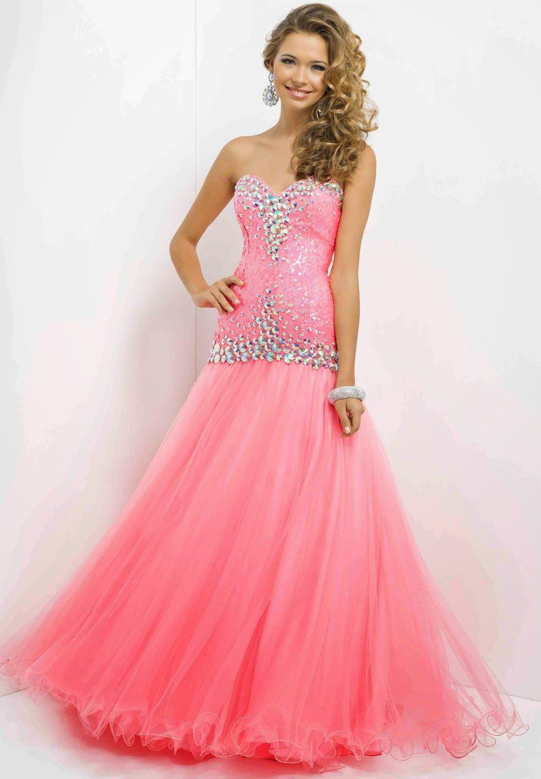 Elegantes vestidos largos de fiesta | Vestidos | Pinterest | Vestido ...