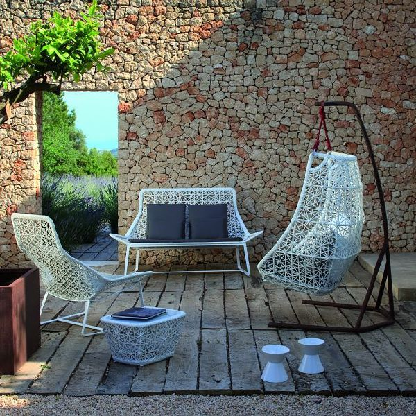 Cool Terrace Swing Chair Ideas, Photo Cool Terrace Swing Chair Ideas Close  Up View.