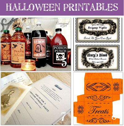 free printables - Free Printables For Halloween