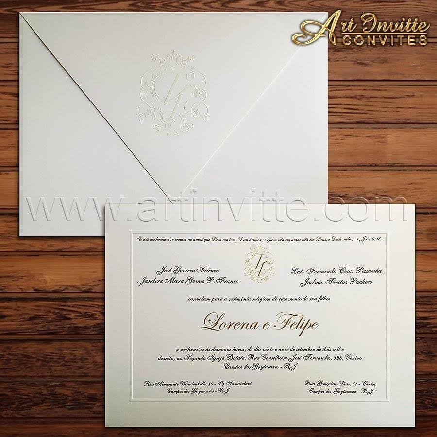 Pin em Convites de casamento