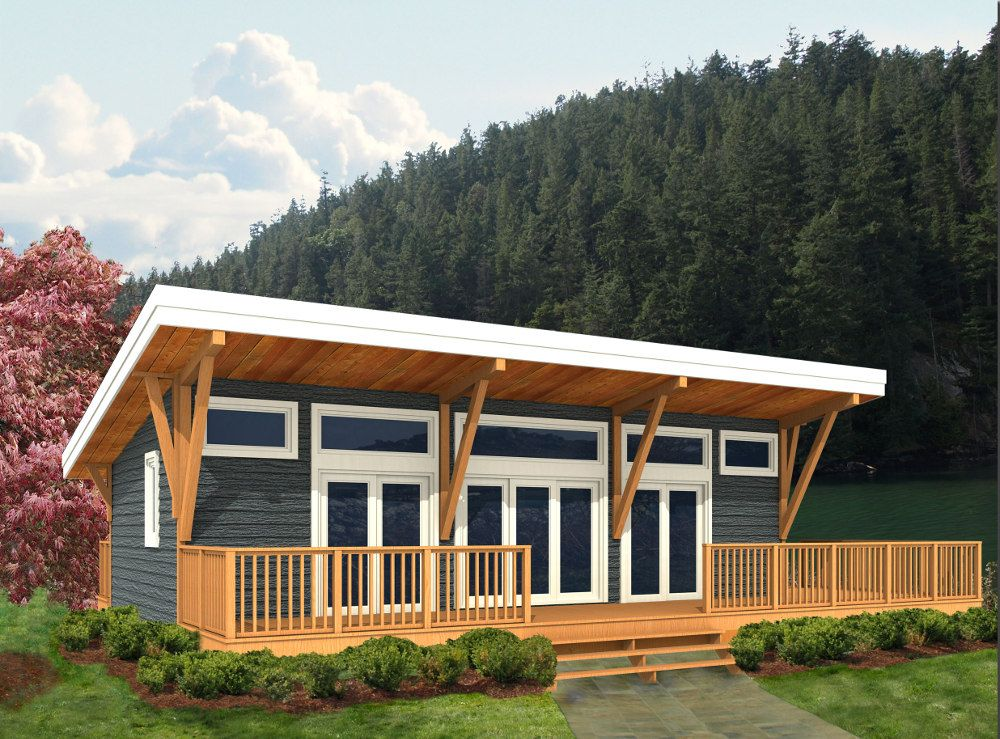 House Plans Finch Linwood Custom Homes Shed Roof Design Cottage Plan Small House Design