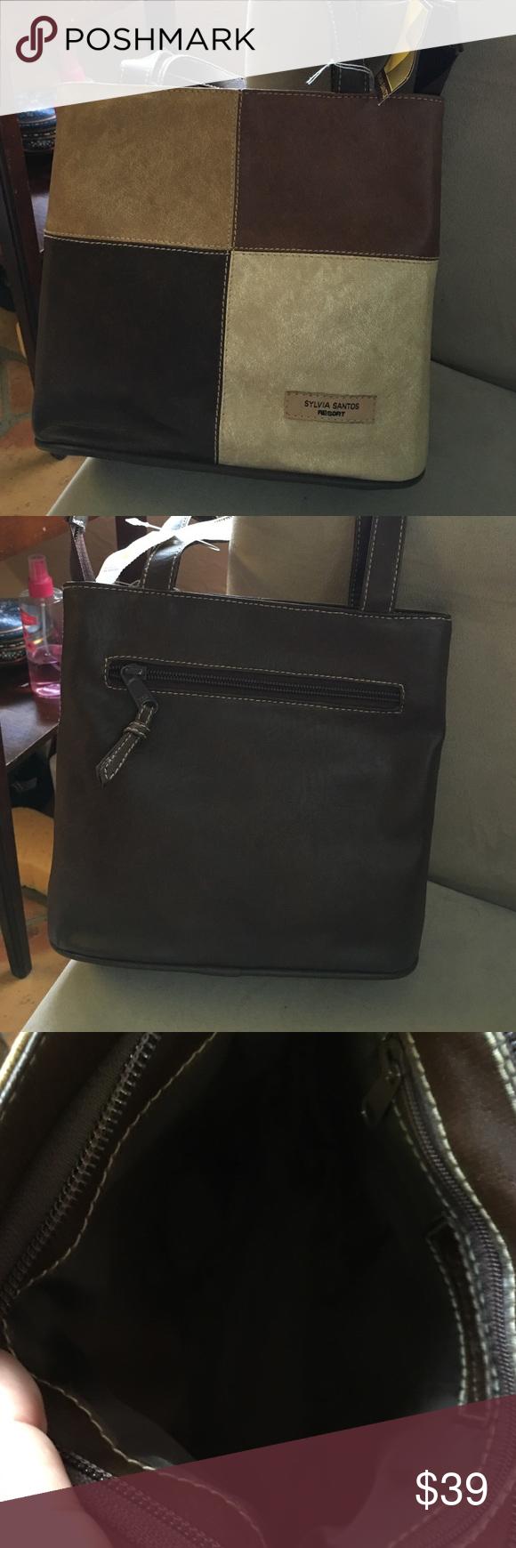 Sold Sylvia Santos Leather Shoulder Bag Leather Shoulder Bag Shoulder Bag Leather