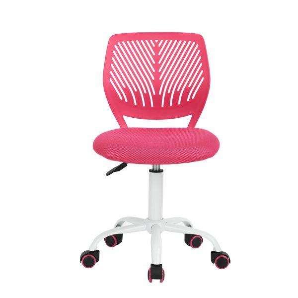 Carnation Silla Color Rosa Para Escritorio Moderna Sillas De