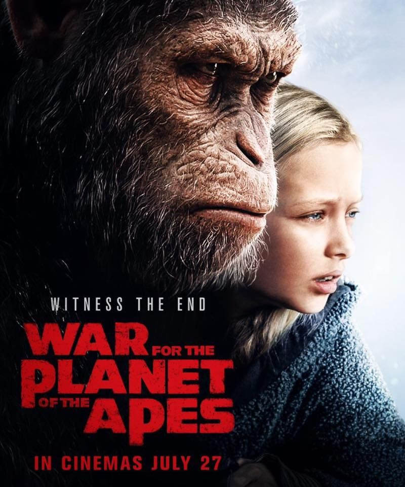 War For The Planet Of The Apes 2017 Witness The End Planet Of The Apes Plant Of The Apes Fiction Movies