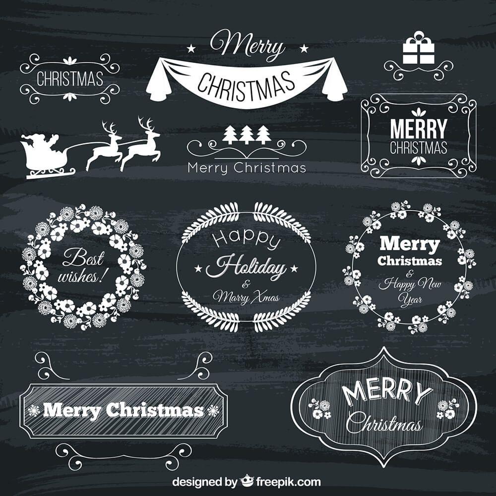 70+ Christmas Mockups, Icons, Graphics & Resources