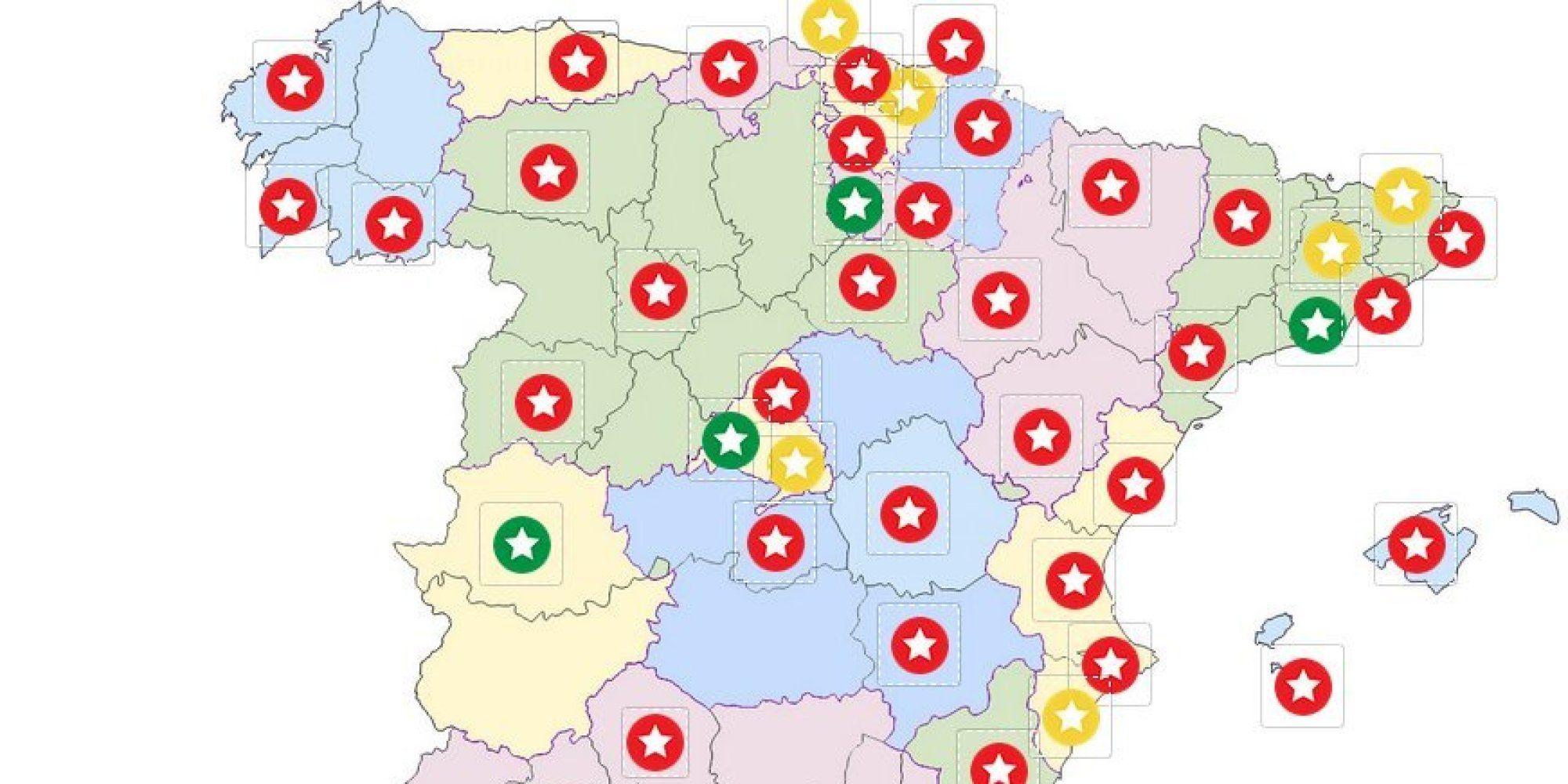 mapa de portugal guia michelin Estrellas Michelin 2015: ¿dónde están los mejores restaurantes de  mapa de portugal guia michelin