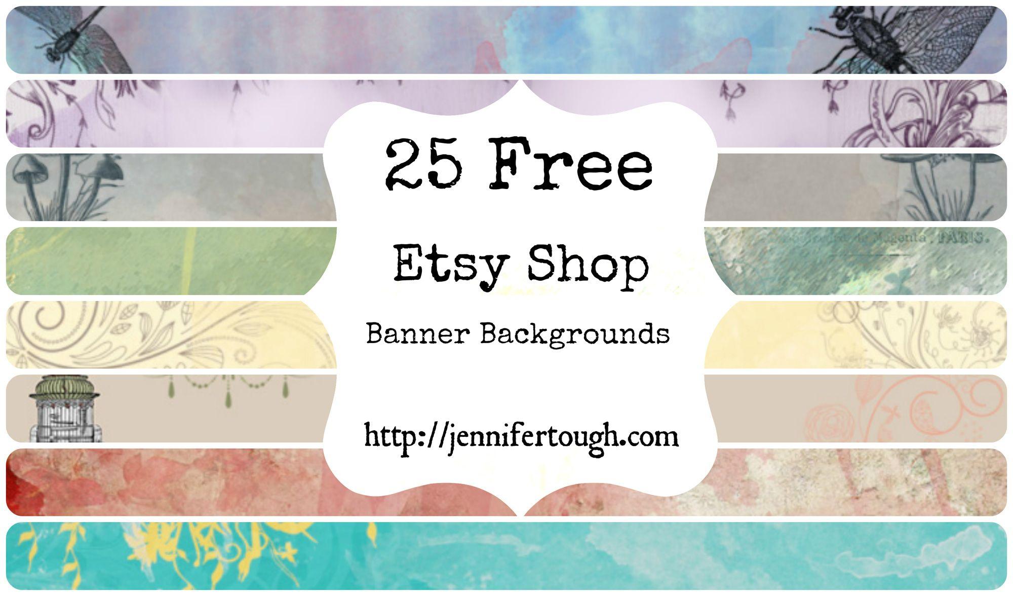 25 Free Etsy Shop Banner Etsy shop banner, Free etsy