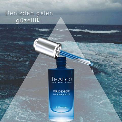 Thalgo Mükemmel bir cilde tekrar kavuşmak isteyenlere, denizden gelen güçlü içeriklere sahip bu serum sadece tek bir damlası ile cildinizde eşsiz bir yenileme sağlar. #nubia #thalgo