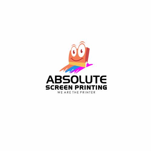 Absolute Screen Printing - Logo Brand/Symbol