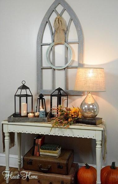 Halloween decorations  IDEAS  INSPIRATIONS Finding Fall Home Tour - halloween decoration ideas home