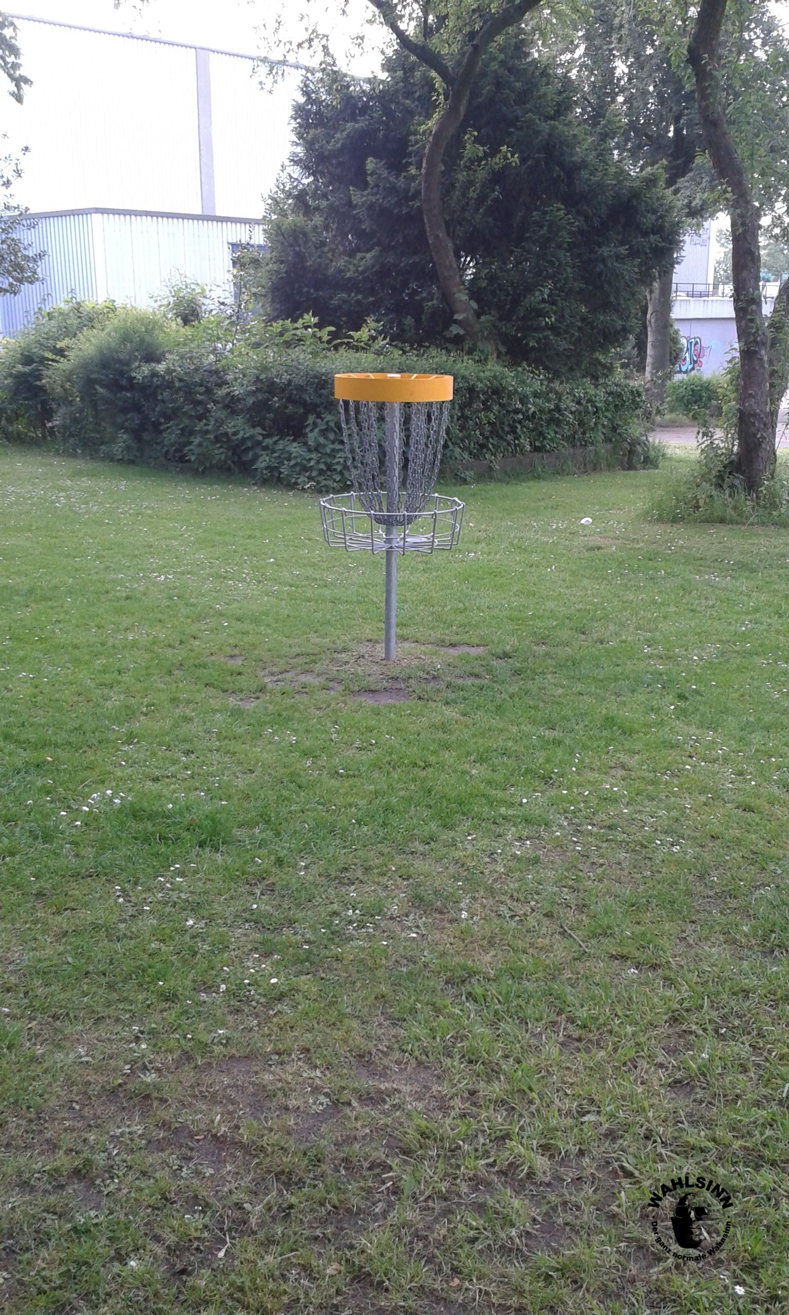 """Frisbeegolf - Das """"Loch"""""""