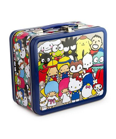 Another great find on #zulily! Hello Kitty & Friends Lunch Box #zulilyfinds