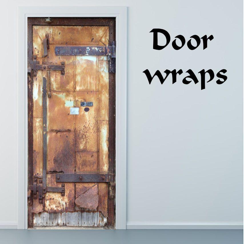 Metal rusty door wrap Mill City Museum  Real Door  & Metal Rusty Dooru0027 Wrap (Faux/Trompe lu0027oeil Door