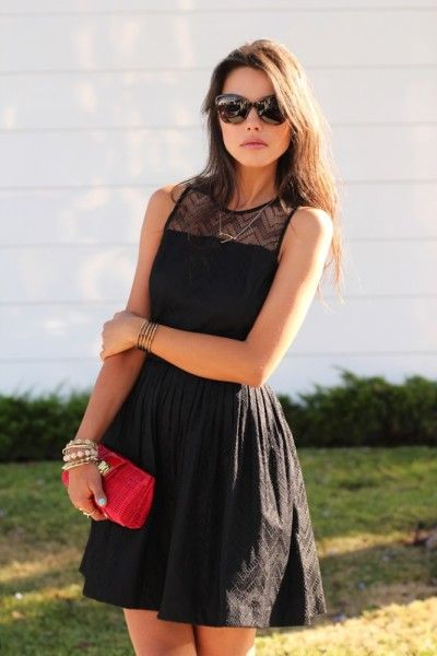 So You Want To Wear Black A Summer Wedding How Get