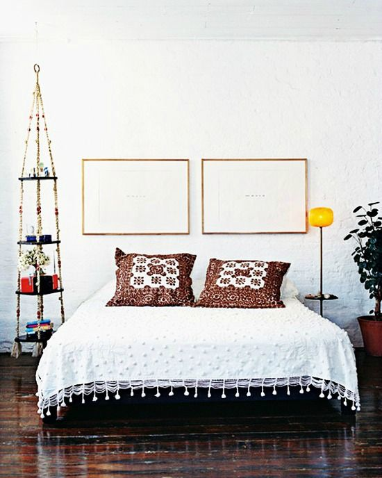 Clean And Simple Bohemian Styled Bedroom Great Design For A Bachelor Bachelorette Or Student