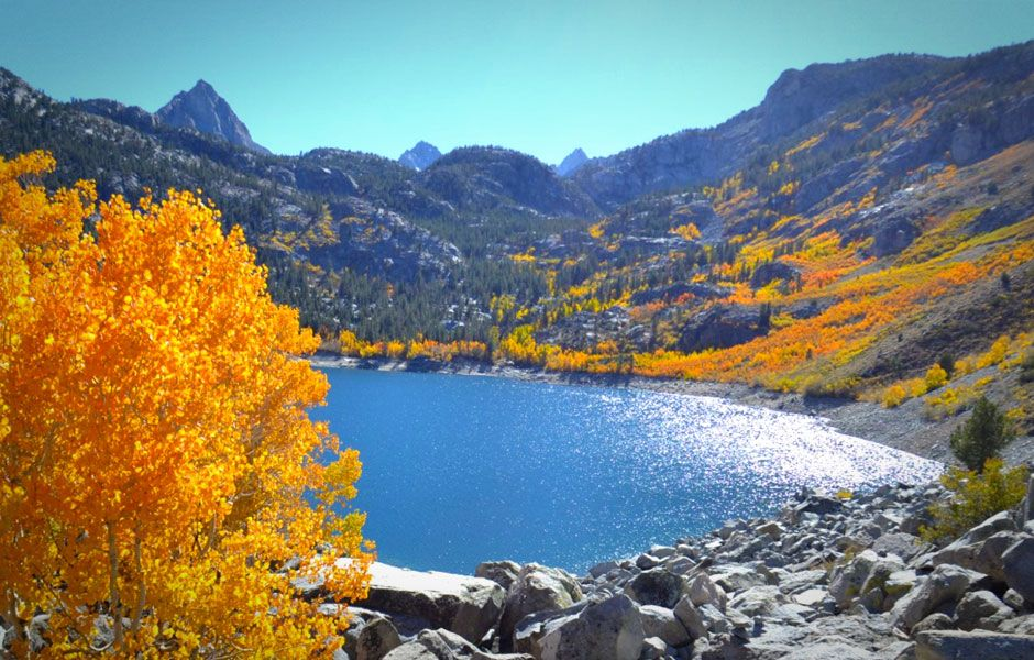 The West's Best Fall Adventures, Lake Sabrina