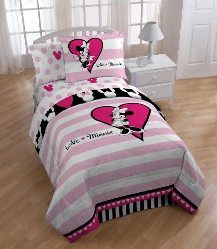 Cutest Minnie Mouse Bedding For Your Adorable Toddler | Disney ...