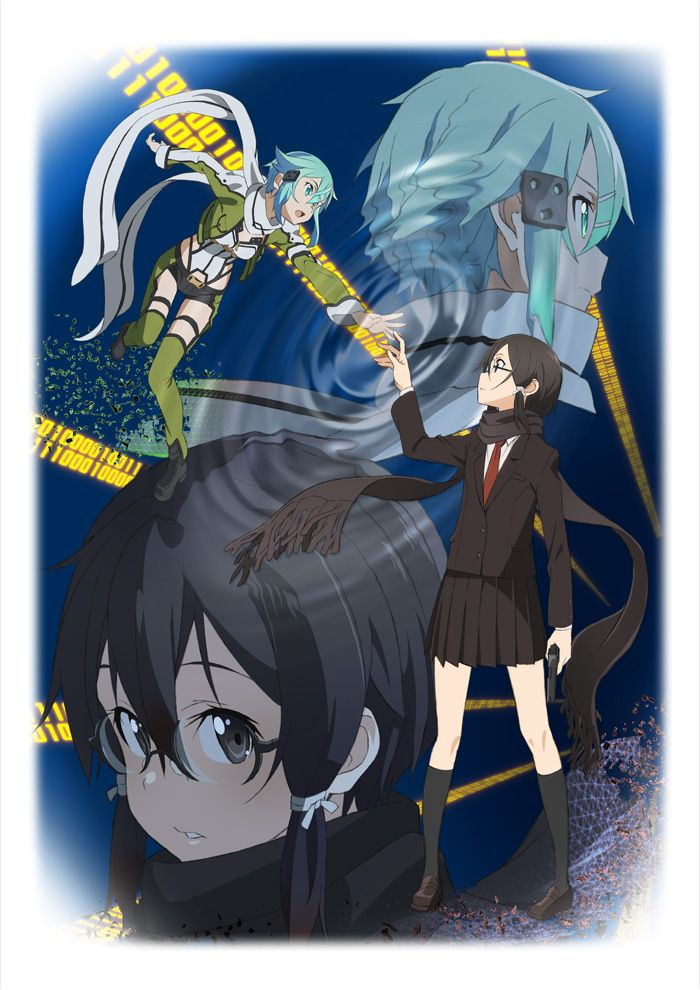 Sword Art Online II's July Premiere, New Visual Unveiled