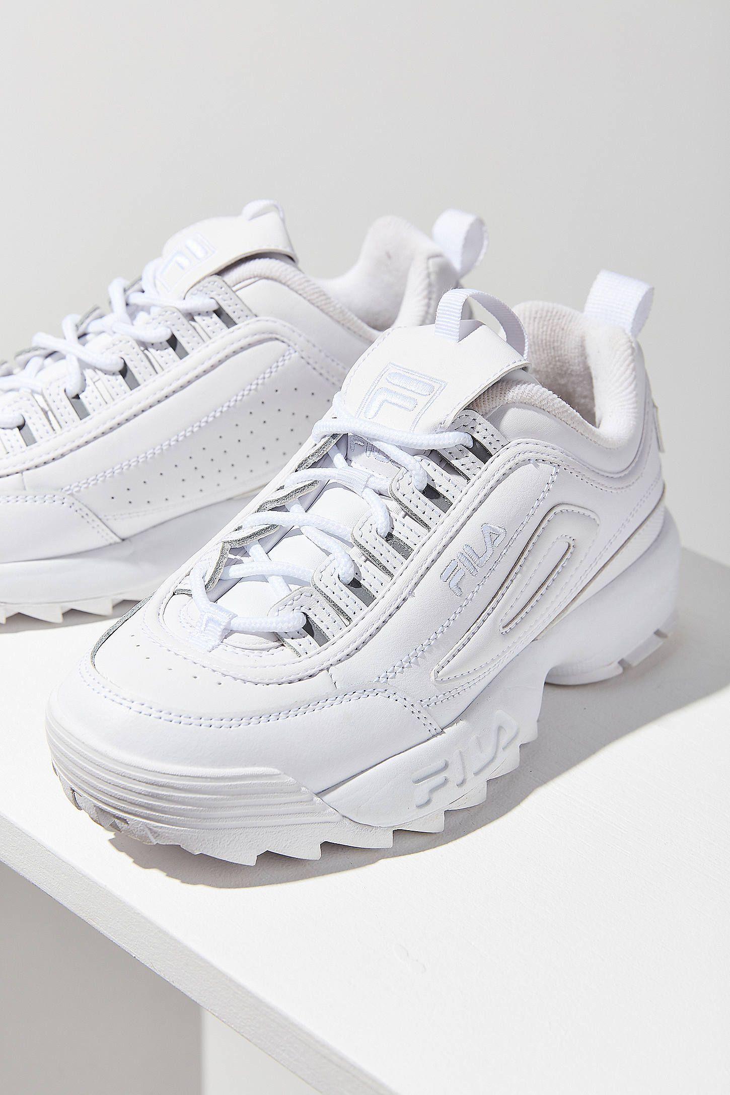 ed4e784565c3 FILA Disruptor 2 Premium Mono Sneaker   Urban Outfitters   FASHION ...