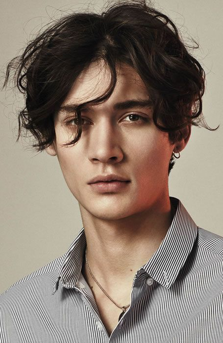 Men's Hairstyles Naturally Wavy. Photo: Topman. #menshairstyles #menshair #wavyhair | Mens ...