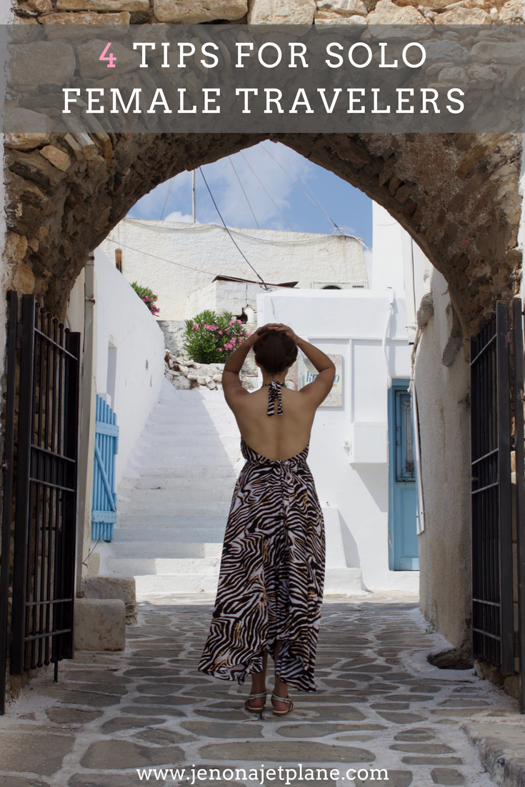 45ffded1f6 Are you a solo female traveler that wants to see the world and have new  adventures  Check out my top tips for solo female travel and learn how to  take ...