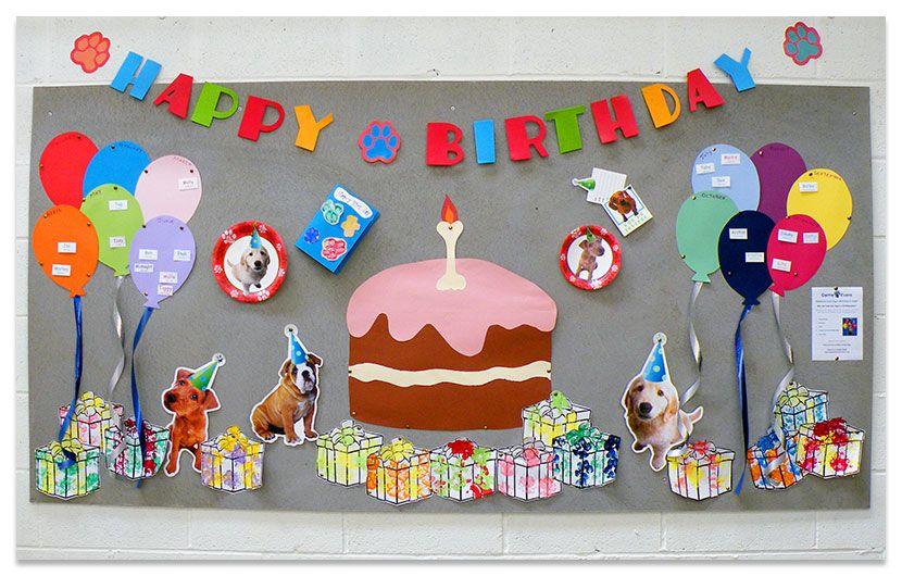 birthday board ideas Doggy Birthday Parties Birthday Boards