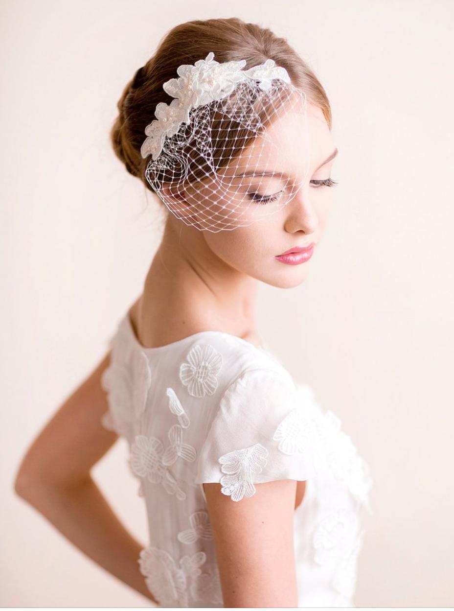 birdcage veil   netting in 2019   hair pieces   wedding