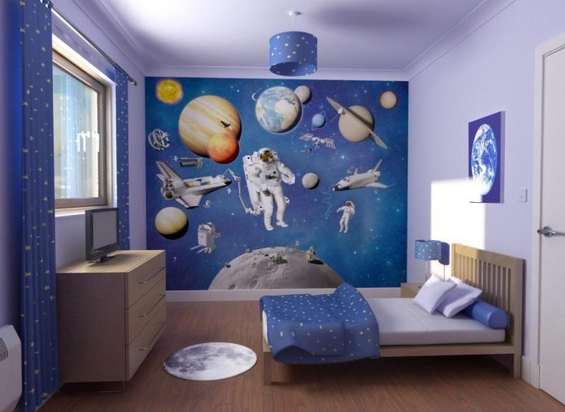 Astronauta deco hogar pinterest astronautas - Decoraciones habitaciones infantiles ...