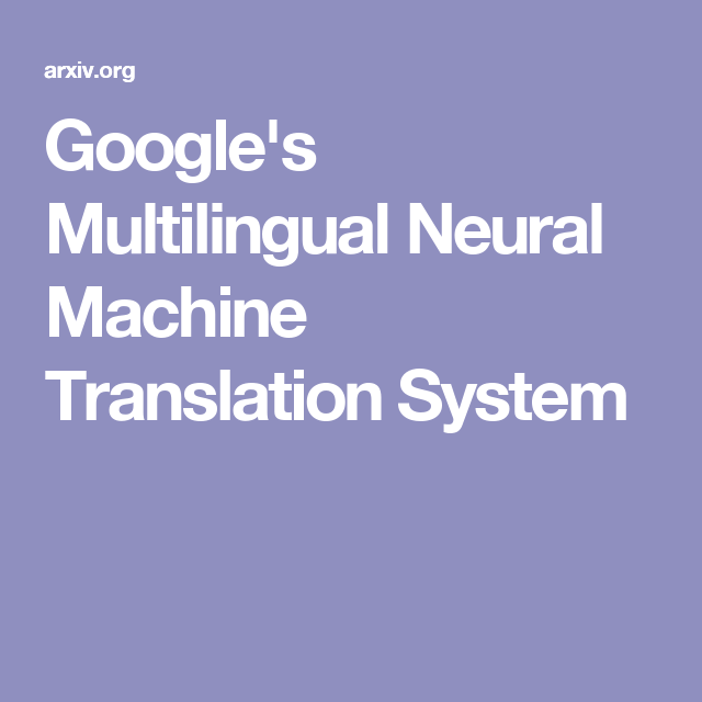 Pin On Nlp Google Translate Research Papers