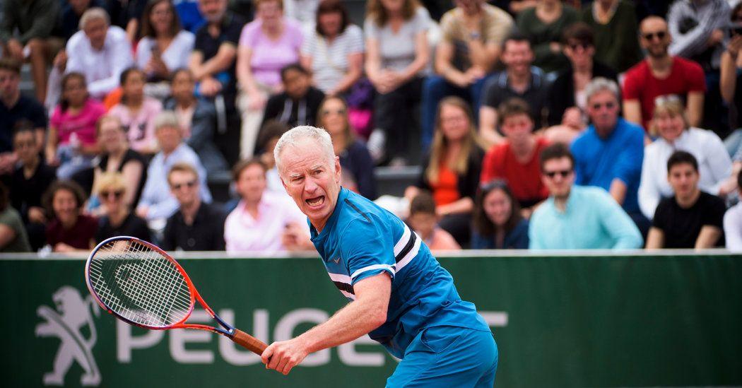 Cheering John McEnroe in Paris Never Gets Old John