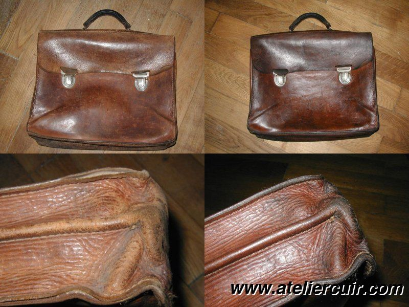sac cuir a4 homme made in spain