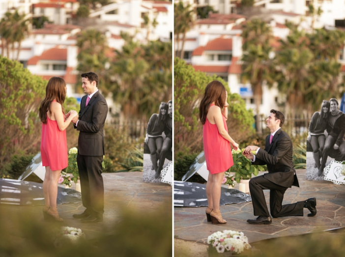 An Amazing Marriage Proposal Idea Comes To Life Romantic Surprise