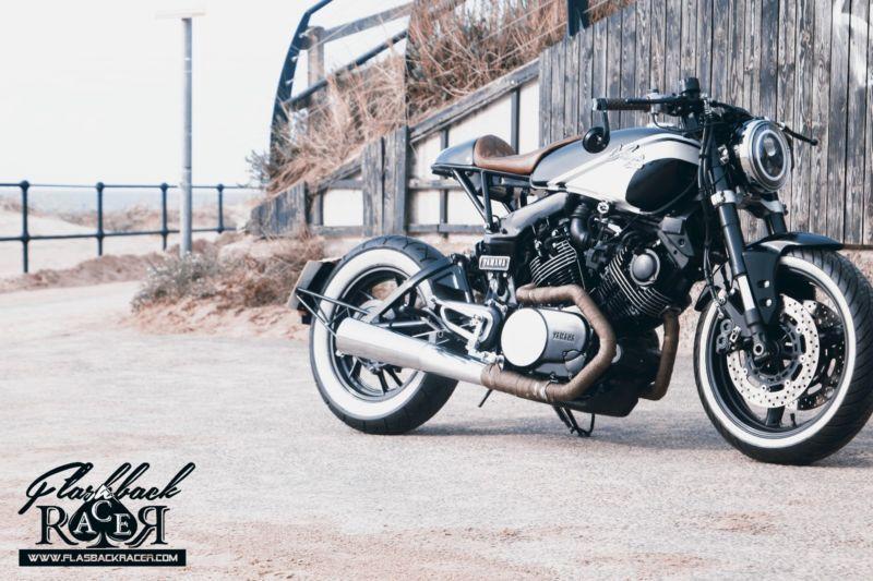 Yamaha Virago XV 750 Cafe Racer Yamaha virago, Yamaha