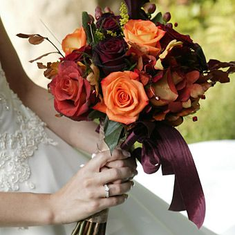 Almost Rustic Looking Perfect For An October November Wedding FlowersOctober