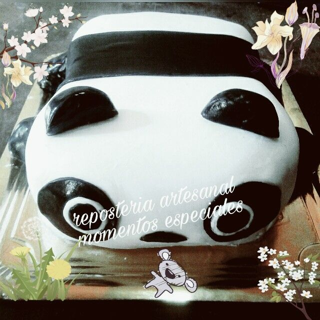 torta oso panda ♡