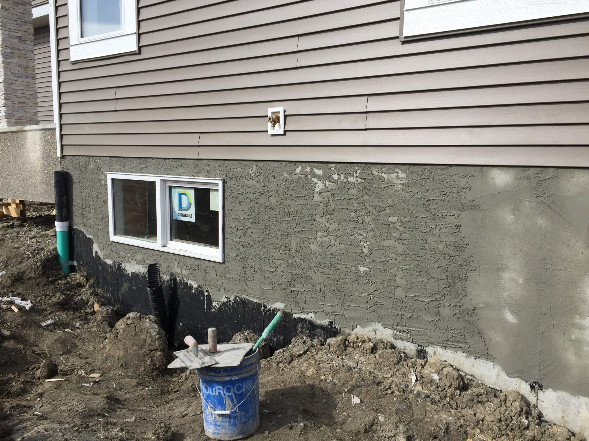 Stucco Parging Repair Masonry Work Exterior Smooth Concrete