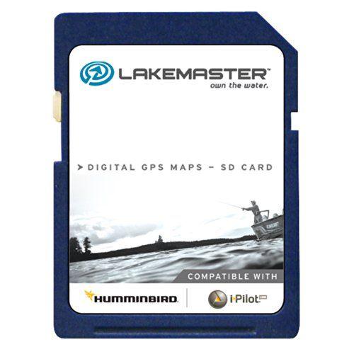 lakemaster chart woods/rainy sd f/humminbird (600027-1) (46705, Fish Finder