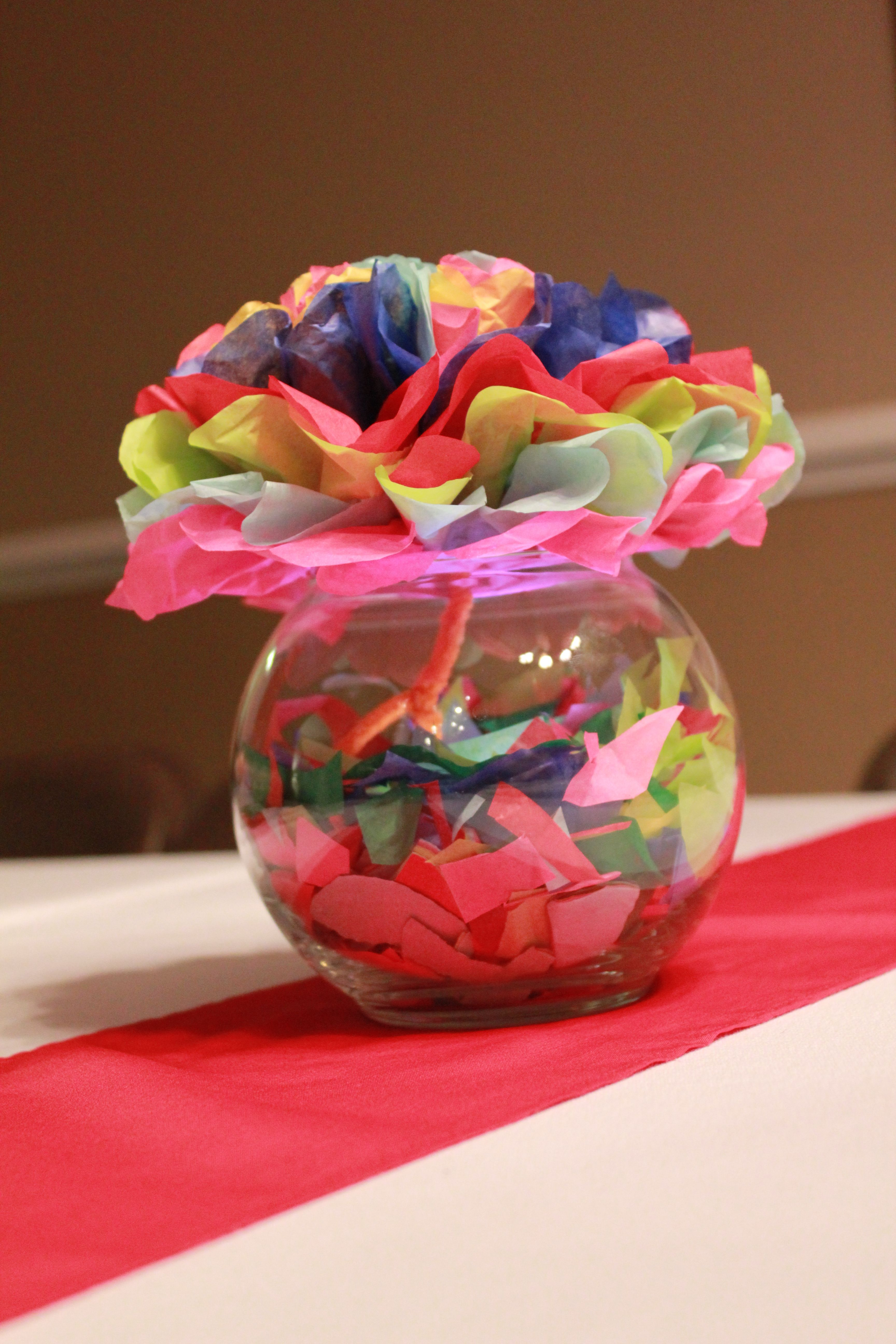 Fiesta table decorations ideas - Fiesta Party Table Centerpieces By Nikki