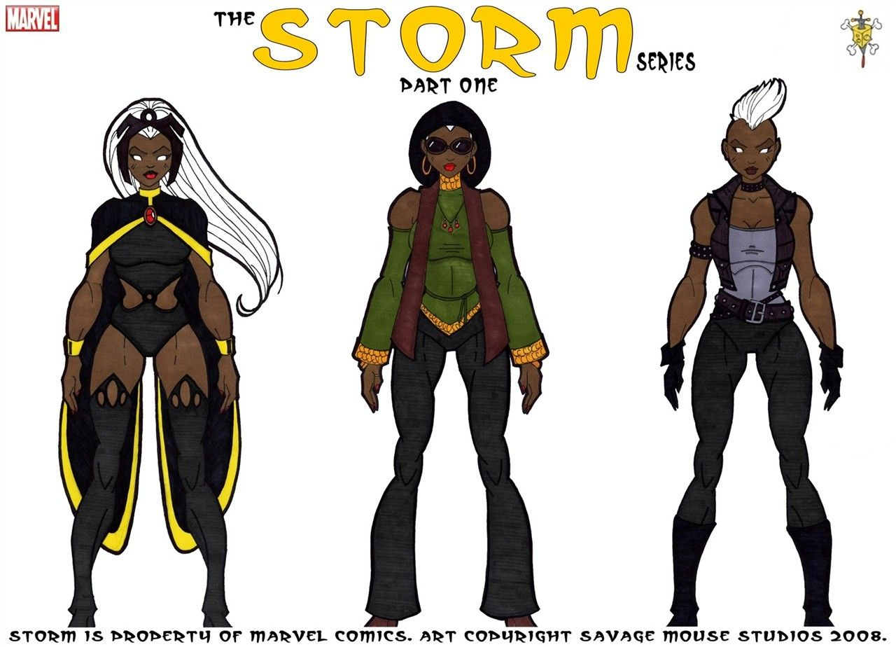 X Men Evolution Characters Profiles Storm Series: Part One...
